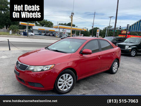 2013 Kia Forte for sale at Hot Deals On Wheels in Tampa FL