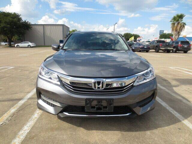 2017 Honda Accord for sale at MOTORS OF TEXAS in Houston TX