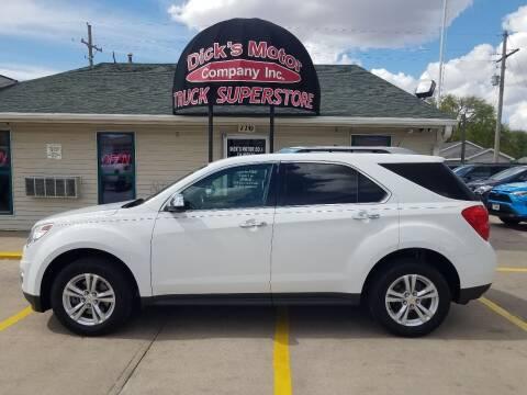 2012 Chevrolet Equinox for sale at DICK'S MOTOR CO INC in Grand Island NE