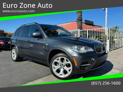 2013 BMW X5 for sale at Euro Zone Auto in Stanton CA