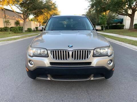 2008 BMW X3 for sale at Presidents Cars LLC in Orlando FL