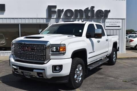 2019 GMC Sierra 3500HD for sale at Frontier Motors Automotive, Inc. in Winner SD