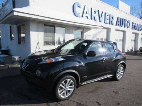 2014 Nissan JUKE for sale at Carver Auto Sales in Saint Paul MN