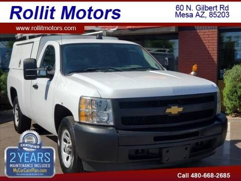 2013 Chevrolet Silverado 1500 for sale at Rollit Motors in Mesa AZ
