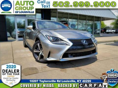 2017 Lexus RC 350 for sale at Auto Group of Louisville in Louisville KY