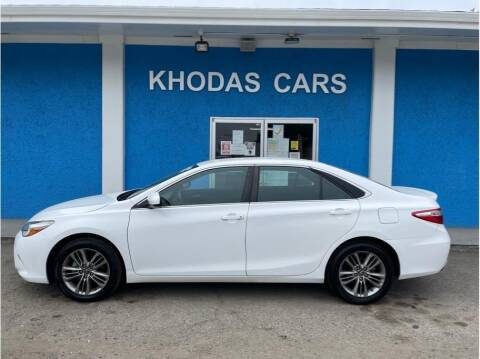 2016 Toyota Camry for sale at Khodas Cars in Gilroy CA