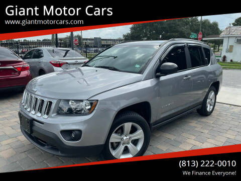 2017 Jeep Compass for sale at Giant Motor Cars in Tampa FL