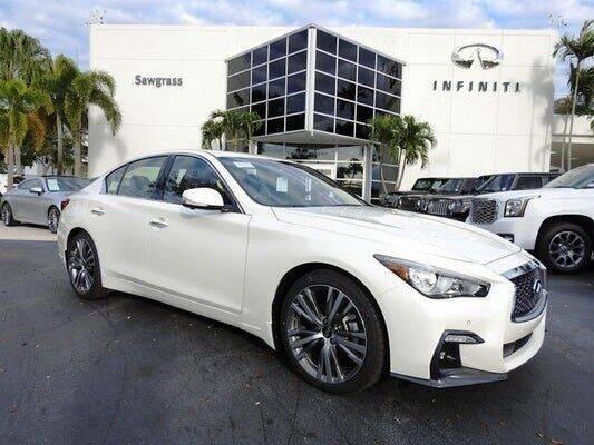 2021 Infiniti Q50 for sale in Tamarac, FL