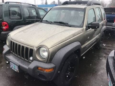 2004 Jeep Liberty for sale at Chuck Wise Motors in Portland OR