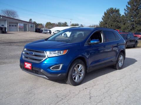 2018 Ford Edge for sale at SHULLSBURG AUTO in Shullsburg WI