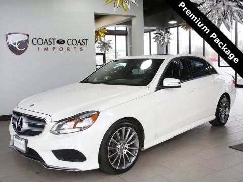 2014 Mercedes-Benz E-Class for sale at Coast to Coast Imports in Fishers IN