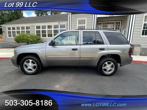 2007 Chevrolet TrailBlazer for sale at LOT 99 LLC in Milwaukie OR
