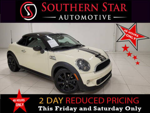 2012 MINI Cooper Coupe for sale at Southern Star Automotive, Inc. in Duluth GA