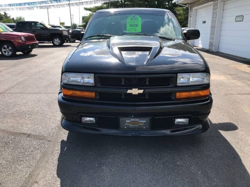 2001 Chevrolet S-10 for sale at Tonys Auto Sales Inc in Wheatfield IN