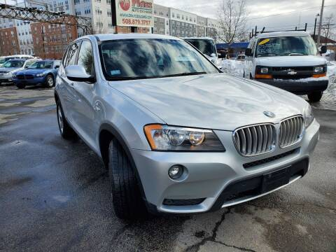2012 BMW X3 for sale at Mass Auto Exchange in Framingham MA