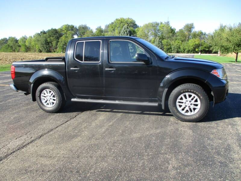 2016 Nissan Frontier for sale at Crossroads Used Cars Inc. in Tremont IL