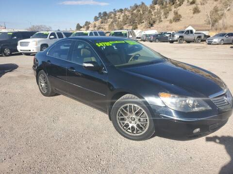 2007 Acura RL for sale at Canyon View Auto Sales in Cedar City UT