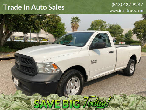 2013 RAM Ram Pickup 1500 for sale at Trade In Auto Sales in Van Nuys CA