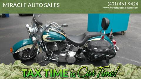 2009 Harley-Davidson FLSTC HERITAGE SOFT TAIL CLASI for sale at MIRACLE AUTO SALES in Cranston RI