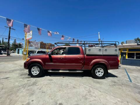 2005 Toyota Tundra for sale at FJ Auto Sales North Hollywood in North Hollywood CA