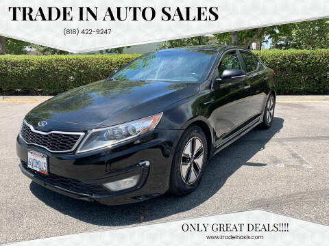 2012 Kia Optima Hybrid for sale at Trade In Auto Sales in Van Nuys CA