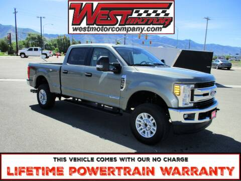 2019 Ford F-350 Super Duty for sale at West Motor Company in Preston ID