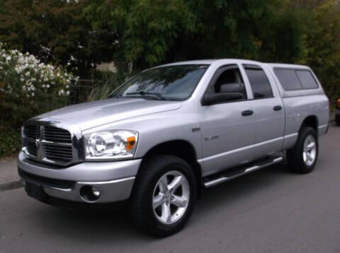 2008 Dodge Ram Pickup 1500 for sale at Eastside Motor Company in Kirkland WA