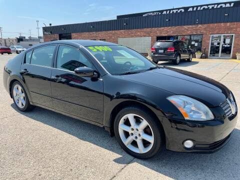 2006 Nissan Maxima for sale at Motor City Auto Auction in Fraser MI