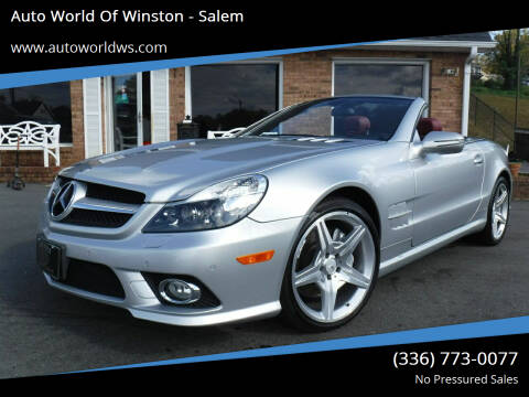 2009 Mercedes-Benz SL-Class for sale at Auto World Of Winston - Salem in Winston Salem NC