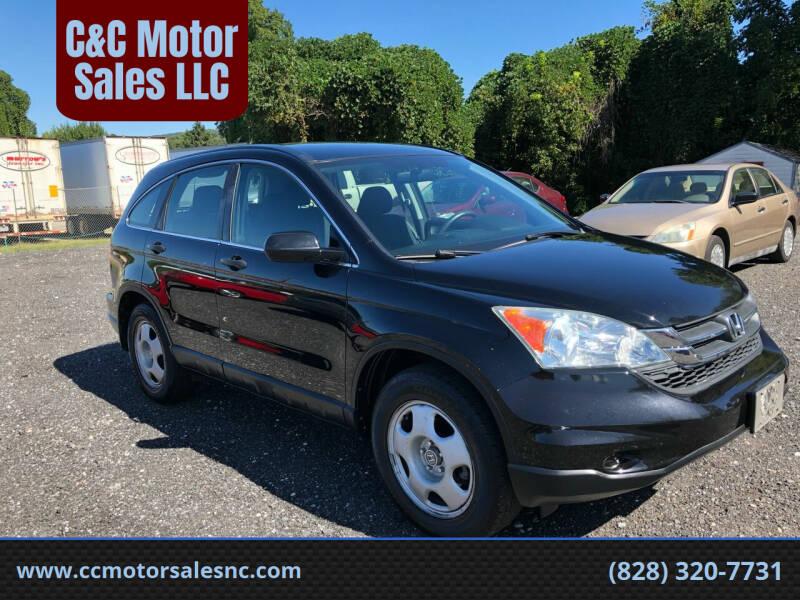 2010 Honda CR-V for sale at C&C Motor Sales LLC in Hudson NC