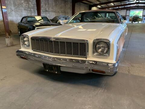 1975 Chevrolet El Camino for sale at American Classic Car Sales in Sarasota FL