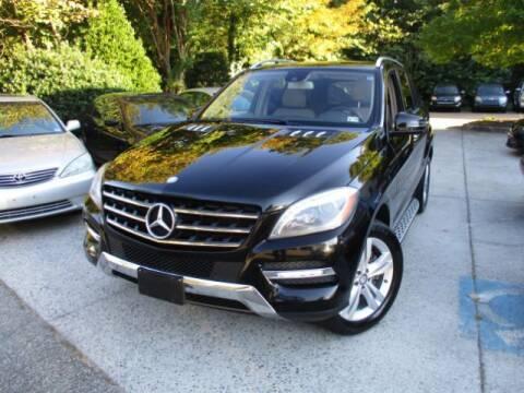 2014 Mercedes-Benz M-Class for sale at Elite Auto Wholesale in Midlothian VA