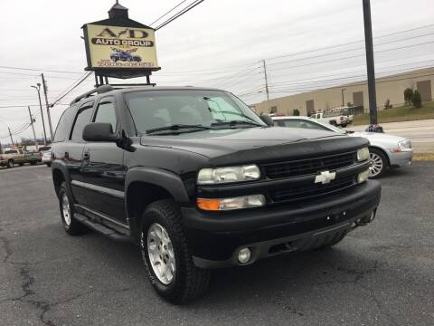 2003 Chevrolet Tahoe for sale at A & D Auto Group LLC in Carlisle PA