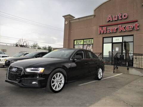 2015 Audi A4 for sale at Auto Market in Oklahoma City OK