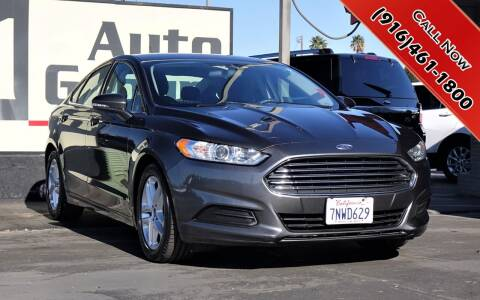 2016 Ford Fusion for sale at H1 Auto Group in Sacramento CA