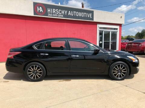 2013 Nissan Altima for sale at Hirschy Automotive in Fort Wayne IN