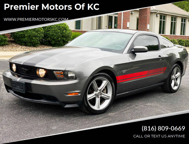 2010 Ford Mustang for sale at Premier Motors of KC in Kansas City MO