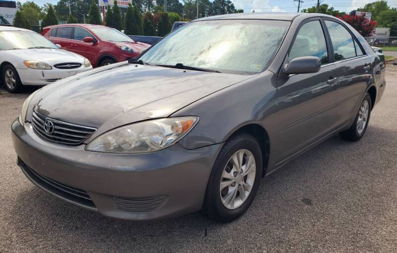 2005 Toyota Camry for sale at Auto and Cycle Brokers of Tidewater in Norfolk VA