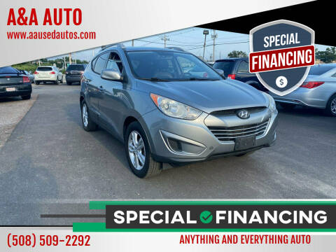 2011 Hyundai Tucson for sale at A&A AUTO in Fairhaven MA