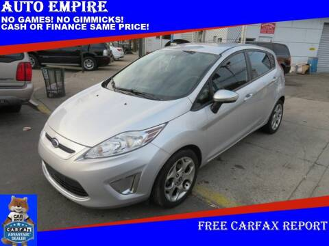 2012 Ford Fiesta for sale at Auto Empire in Brooklyn NY