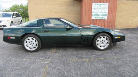 1984 Chevrolet Corvette for sale at LENTZ USED VEHICLES INC in Waldo WI