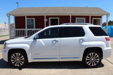 2016 GMC Terrain for sale at AMT AUTO SALES LLC in Houston TX