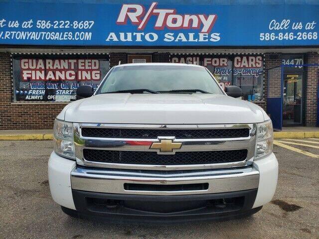 2011 Chevrolet Silverado 1500 for sale at R Tony Auto Sales in Clinton Township MI
