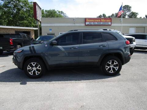2014 Jeep Cherokee for sale at DERIK HARE in Milton FL