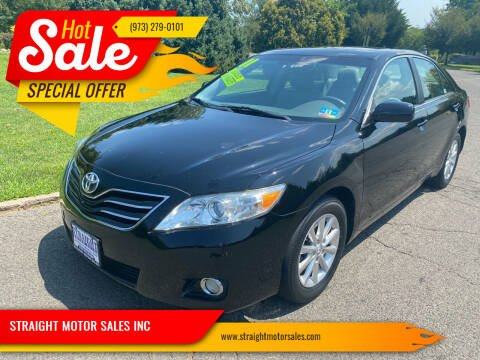 2011 Toyota Camry for sale at STRAIGHT MOTOR SALES INC in Paterson NJ