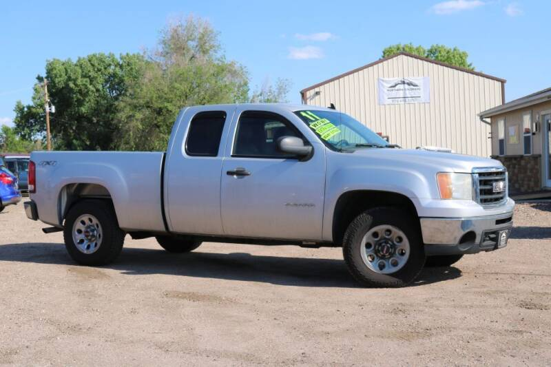 2011 GMC Sierra 1500 for sale at Northern Colorado auto sales Inc in Fort Collins CO