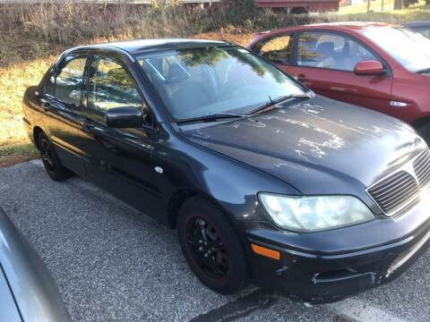 2002 Mitsubishi Lancer for sale at Klein on Vine in Cincinnati OH