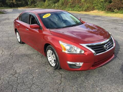 2014 Nissan Altima for sale at Speed Auto Mall in Greensboro NC