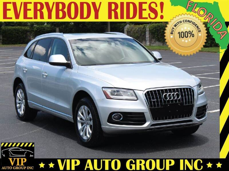 2014 Audi Q5 for sale at VIP Auto Group in Clearwater FL