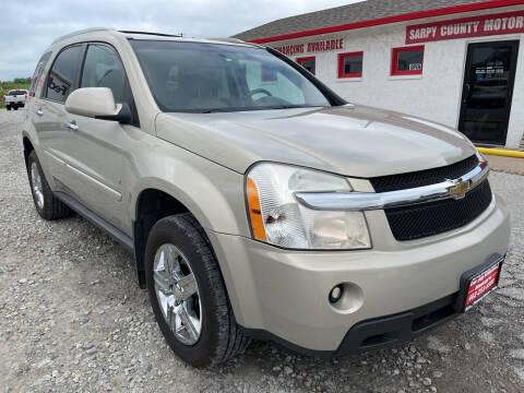 2009 Chevrolet Equinox for sale at Sarpy County Motors in Springfield NE